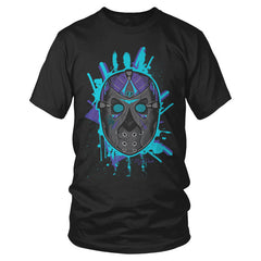 "Jordan 8 ""Aqua"" Jason Mask T-Shirt"