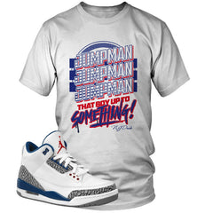 "Jordan 3 True Blue ""Jumpman"" T-Shirt"