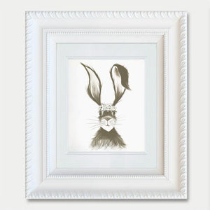 Hare Drawing I - Jennifer Hogwood