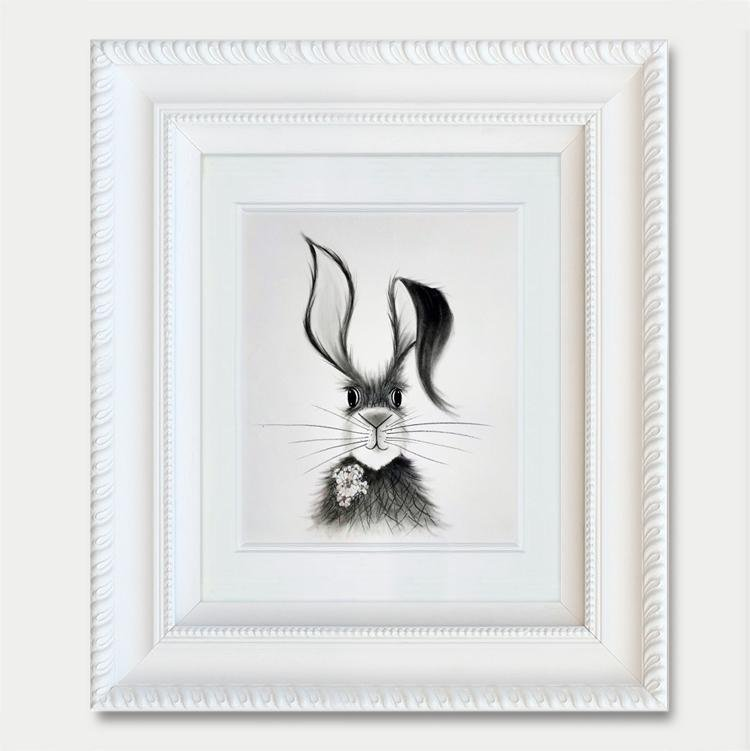 Hare Drawing II - Jennifer Hogwood