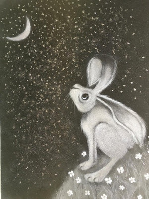 Hare Drawing IV - Jennifer Hogwood
