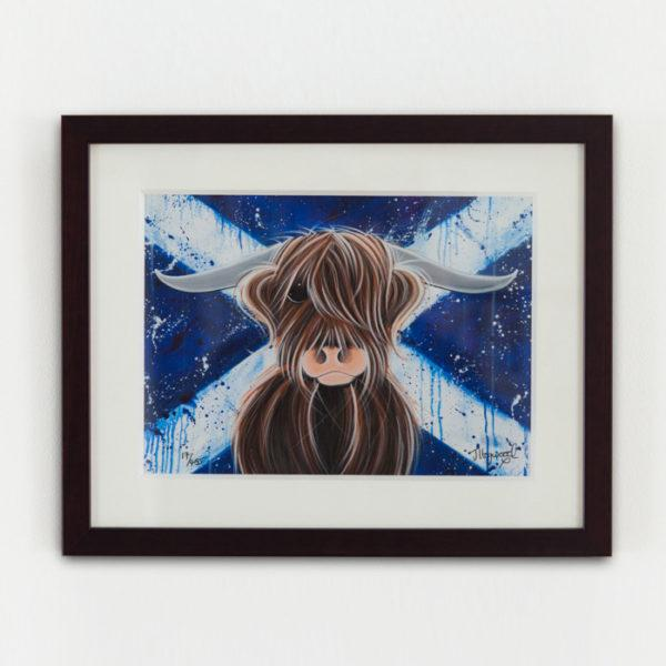 Highlander Paper Framed - Jennifer Hogwood