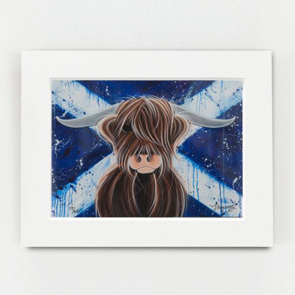 Highlander Paper Mounted - Jennifer Hogwood