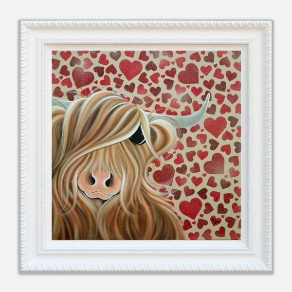 Many Hearts for Moo - Jennifer Hogwood
