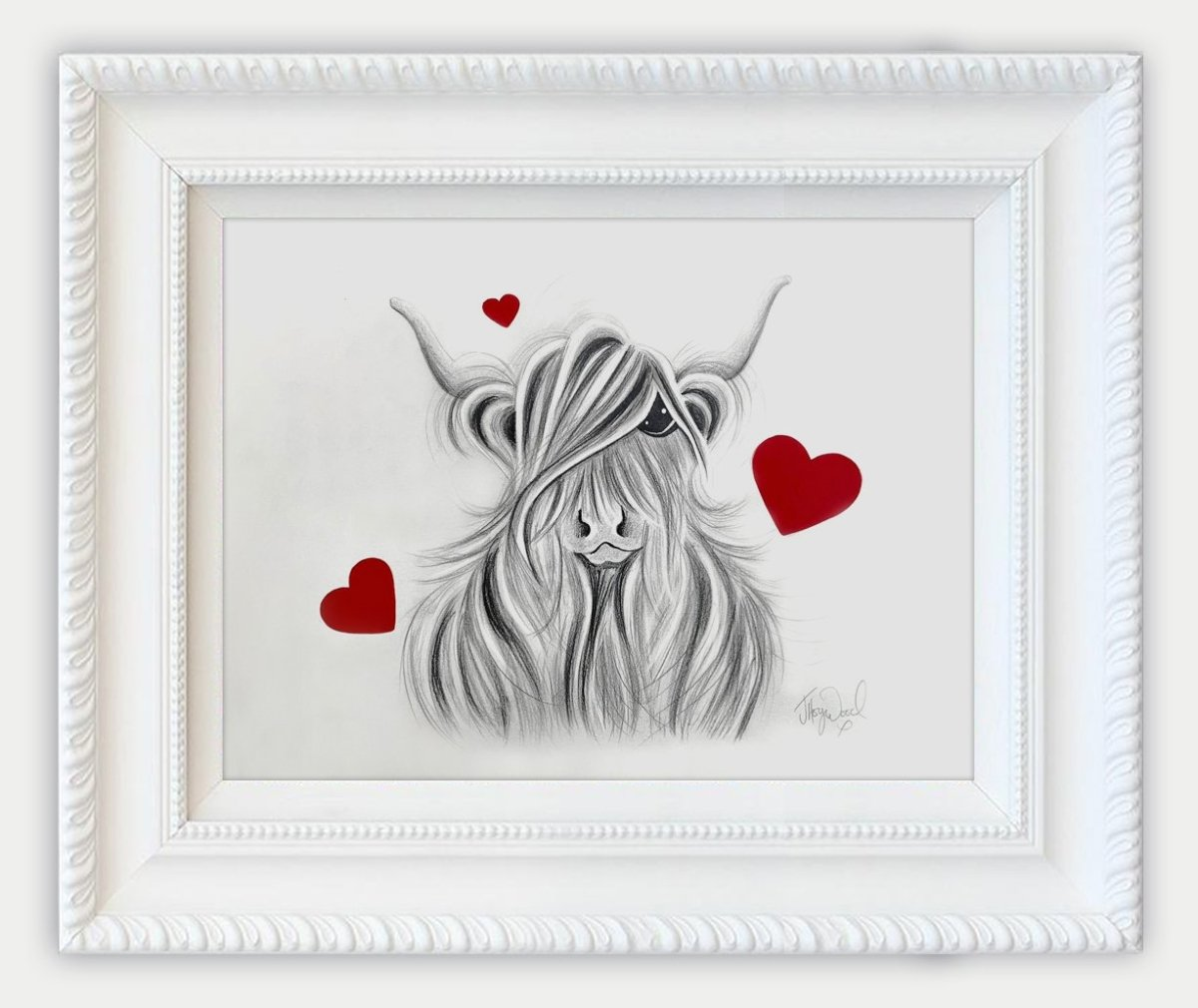 McValentine Drawing - Jennifer Hogwood