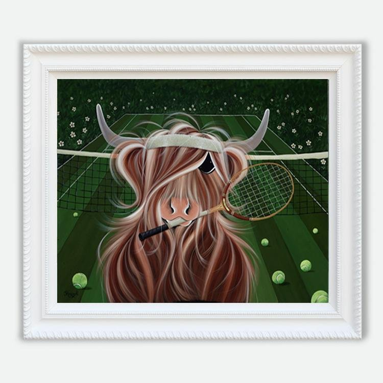 Moo in the Centre Court - Jennifer Hogwood