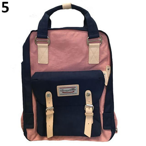 CANDY COLORS SATCHEL CELLEGE BACKPACK