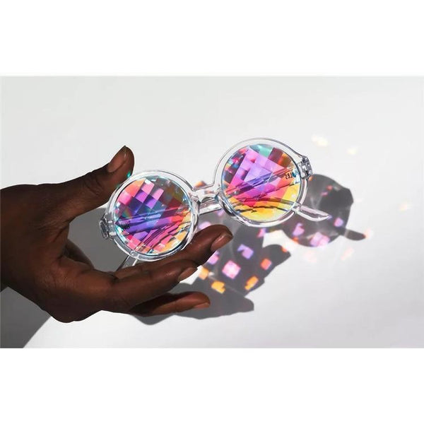 KALEIDOSCOPE HOLOGRAM ROUND GLASSES