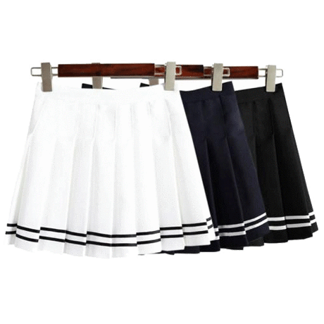 SAILOR PREPPY MINI PLEATED SKIRT