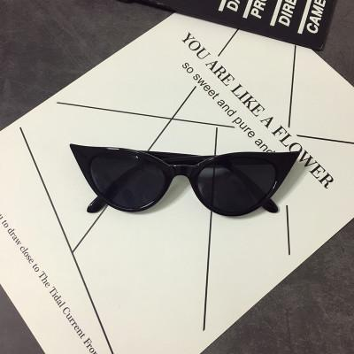 SHARP CAT EYE RETRO SUNGLASSES