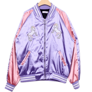 UNICORN EMBROIDERY BLAZER JACKET