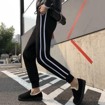 WARM STRETCH SLIM LEGGINGS PANTS