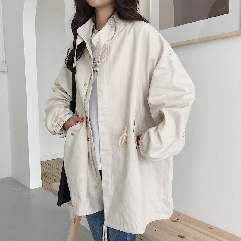 WINDBREAKER KOREAN AESTHETIC CASUAL COAT JACKET