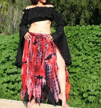 GRUNGE FAIRY GOTHIC BELLY DANCE PETAL SKIRT