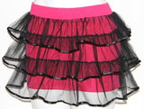 LOLITA BURLESQUE GOTHIC STEAM PUNK CRINOLINE MINI SKIRT