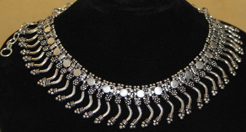 TRIBAL BELLY DANCE STEAM PUNK CHOKER