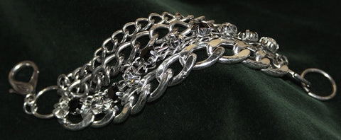 GOTHIC STEAM PUNK CHAIN LINK BRACELET