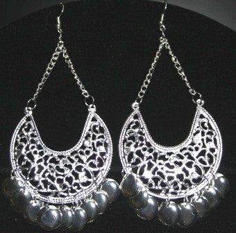 Shimmy Disc Belly Dance Earrings