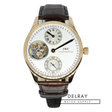 IWC Portuguese Regulator Tourbillion- Unworn Limited Edition
