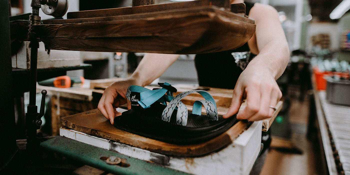 How Its Made The Chaco X Ubb Sandal United By Blue Cut Engineer Iron Safety Boots Leather