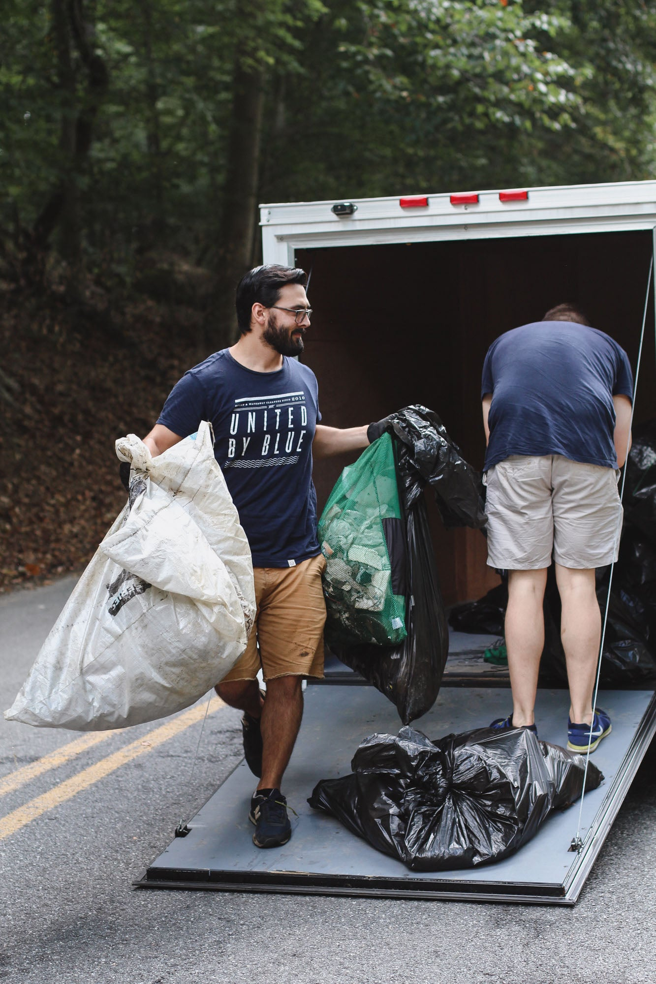 United By Blue's 250,000 lb Cleanup