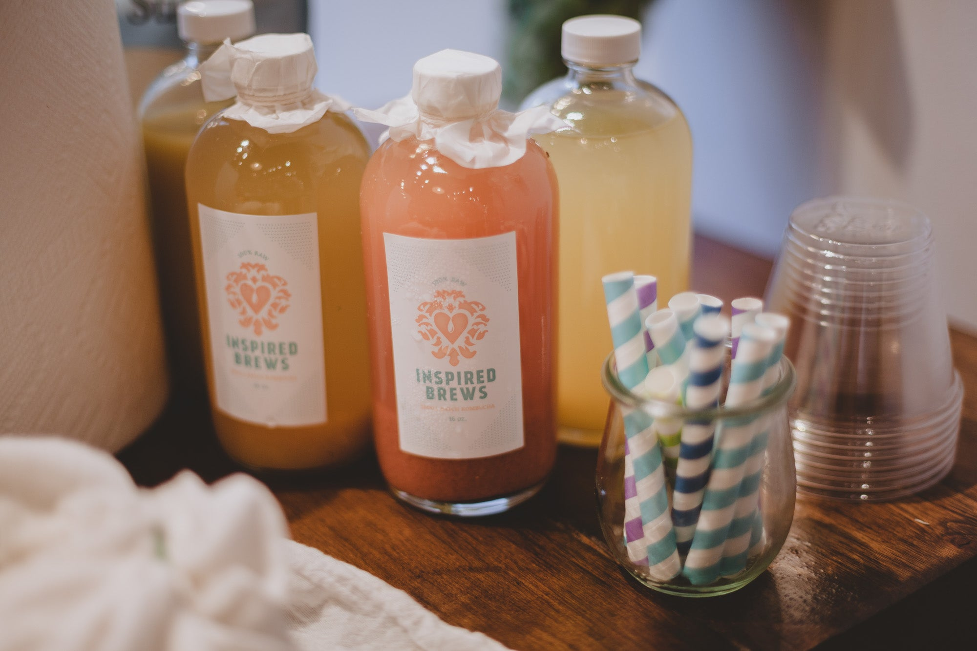 Kombucha Brewing Workshop at the United By Blue Flagship Store
