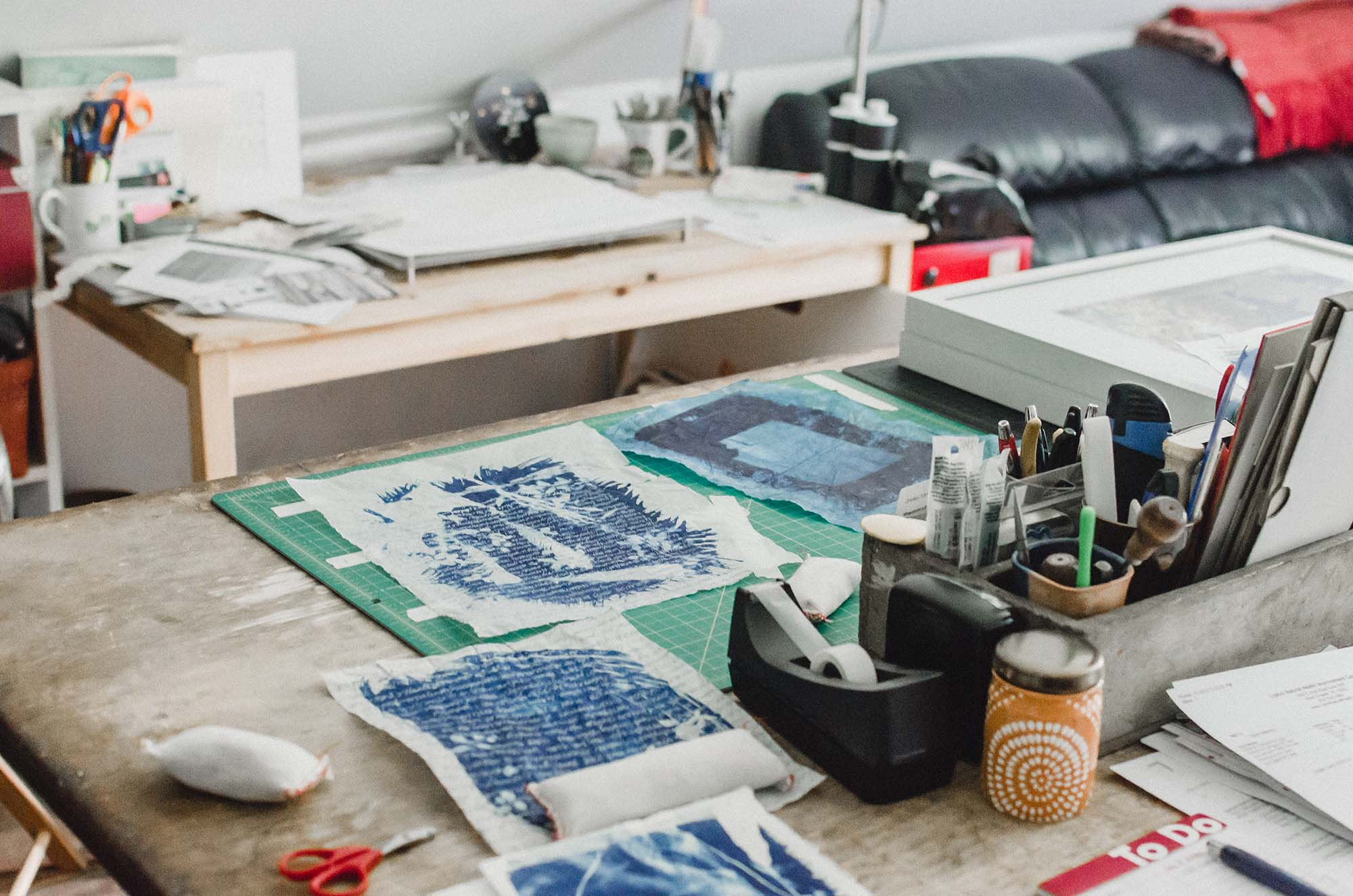 Inside Sarah Bourne Rafferty's Studio