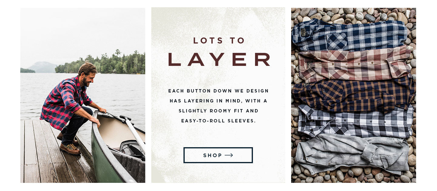 layerable flannels