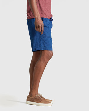 Men's Indigo Camp Short