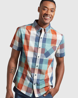 Men's EcoDry™ Short Sleeve Button Down