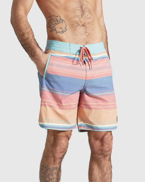 Men's Organic Scallop Board Short