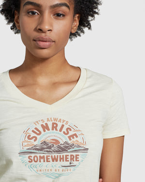 Sunrise Somewhere Tee