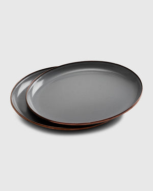 Enamelware Dining Collection - Slate Grey
