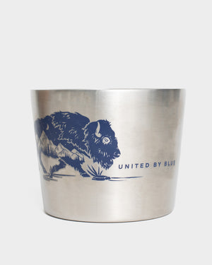 Where The Buffalo Roam 12 oz Insulated Steel Convertible Mug