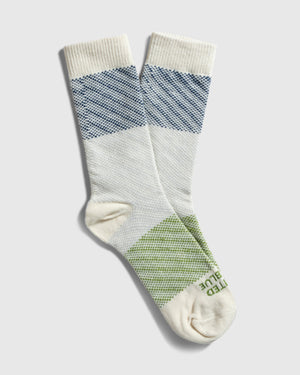 Colorblock SoftHemp™ Sock