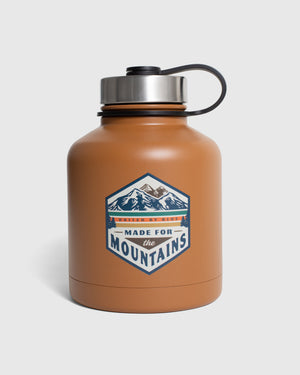 Made For The Mountains 32 oz. Insulated Steel Growler
