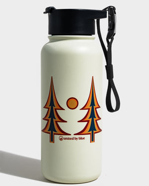 Trippy Trees 32 Oz. Insulated Steel Bottle