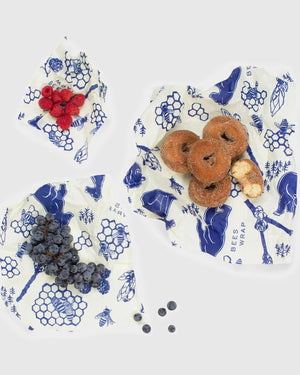 Bees & Bears Reusable Food Wrap 3-Pack