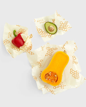 Honeycomb Reusable Food Wrap 3-Pack