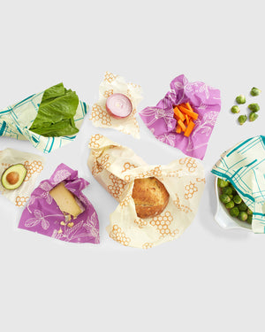 Reusable Food Wrap Variety Pack