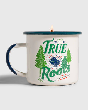 Stay True 12 oz. Enamel Candle Mug