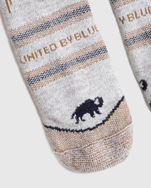 Bison Trail Sock
