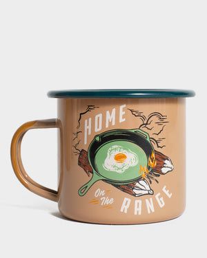 Home On the Range 12 oz. Enamel Mug