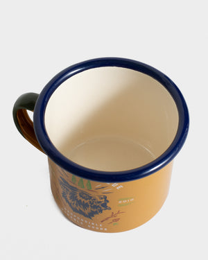 Grizzly 12 oz. Enamel Mug