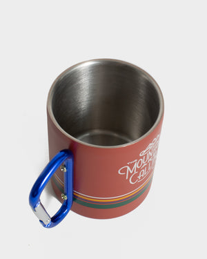Mountains Are Calling 10 oz. Carabiner Cup