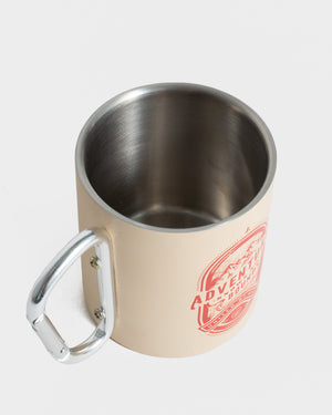 No Bounds 10 oz. Insulated Steel Carabiner Cup