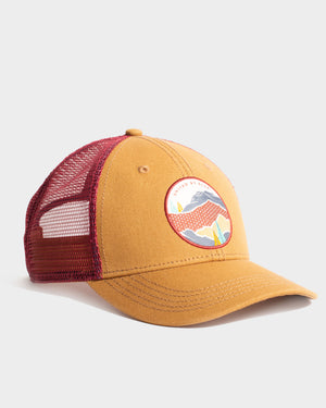 Women's Mountain Shadow Recycled Ripstop Trucker Hat