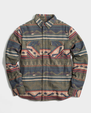The Mens Printed Responsible Flannel