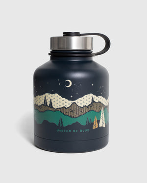 Mountains Are Calling 32 oz. Insulated Steel Growler