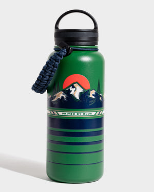 To The Mountains 32 oz. Insulated Steel Water Bottle